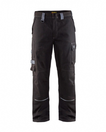 Blaklader 1561 Anti Flame Trousers (Black/Grey)